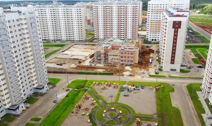 Микрорайон Солнцево парк